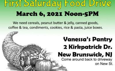 March 6 Drop off locations for New Brunswick, NJ and Birmingham, AL